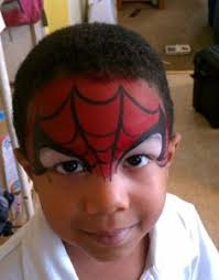 easy spiderman face painting google face painting