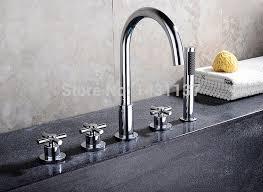 Online Get Cheap German Faucet Aliexpress Com Alibaba Group Luxury Brass Material Chrome Plating Widespread Bathroom Bathtub