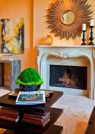 cozy christmas fireplace decoration seating mantel decorating