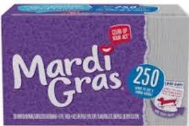mardi gras napkins mardi gras napkins printable coupon frugal harbor