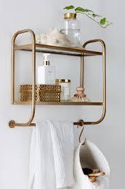 home decor shelves estantería dorada diy u0026 decoración pinterest interiors bath