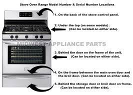 Kitchenaid Toaster Oven Parts List Stove Part Ge Stove Part Kenmore Stove Part Frigidaire Stove Part