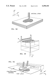 patente us5398193 method of three dimensional rapid prototyping