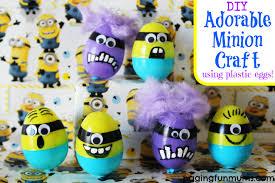 Diy Plastic Easter Egg Decorations by Diy Minion Egg Craft