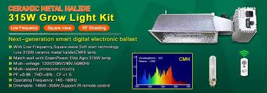 315w cmh bulb grow light reflector 315w dimmable ballast for
