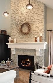 6 painting stone fireplace ideas beautiful thebusylife us