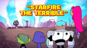 starfire terrible teen titans wiki fandom powered wikia
