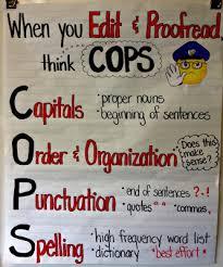 writers workshop revising arms u0026 editing cops 3rd grade