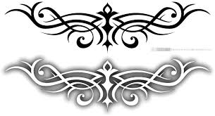 tattoos and doodles violet leopard butterfly tribal