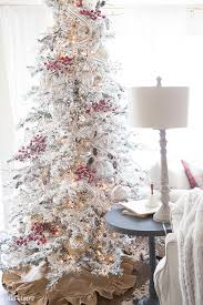 flocked tree how to flock a christmas tree the real way ella