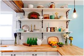 wall mounted kitchen shelf interesting kitchen shelving kitchen
