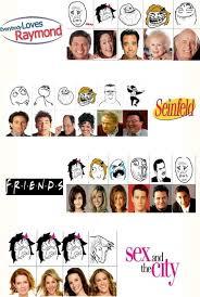 Sitcom Meme - sitcom and meme faces