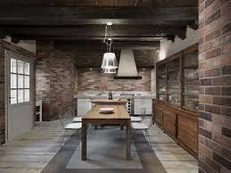 red brick backsplash home design ideas