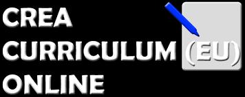 curriculum vitae formato europeo pdf da compilare online crea curriculum vitae online in formato europeo