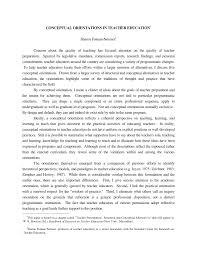 conceptual orientations in teacher education 1 pdf download