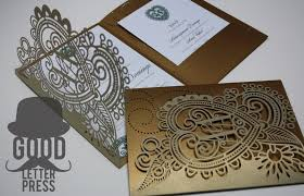 wedding invitation card designer south africa letter press