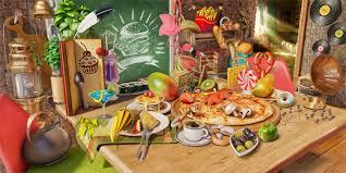 jeux de cuisine 3d objets cachés nourriture présentation de vos applications