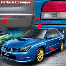 subaru legacy decals subaru rally stickers kamos sticker