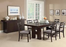 amazon com dabny 7 pc dining table set by coaster table