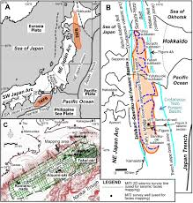 Up Map Variation In Forearc Basin Configuration And Basin Filling