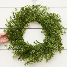 boxwood wreaths artificial boxwood wreath artificial greenery floral supplies