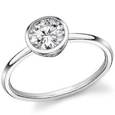 solitare ring moissanite solitaire rings collection moissaniteco