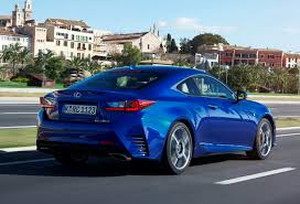 sporty lexus blue lexus rc coupe review 2015 parkers