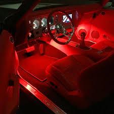 Custom Interior Lights For Cars 69 Chevelle Red And Black Interior Fesler Custom Console Djdesign