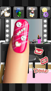 glitter nail salon girls game by dress up star android apps on