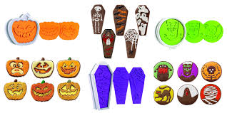 these halloween cookie cutters make adorably creepy treats