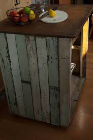 handmade reclaimed wood industrial kitchen island table pop up
