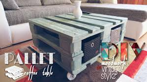 How To Make A Table Out Of Pallets Storage Diy How To Make A Coffee Table Out Of An Old Pallet