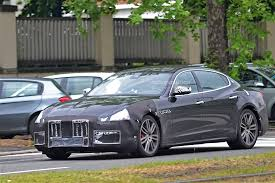 maserati 2017 quattroporte maserati testing 2017 quattroporte facelift with less disguise