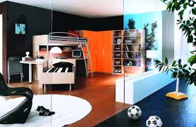 bedrooms for teenage guys colorful wall paint color scheme nice