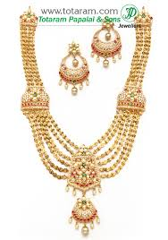 jewelry necklace pearl set images 22k gold long necklace earrings set with south sea pearls cz jpg