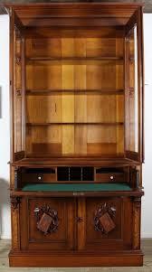 Victorian Secretary Desk by American Victorian Secretary Desk And Bookcase C 1870 From