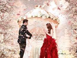 wedding backdrop singapore daniel and celene s fairytale wedding at capella singapore