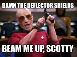 Scotty Meme - meme maker picard gun generator