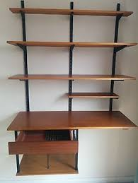 Bookcase System Vintage 1960s Danish Ps System Teak Modular Wall Unit Shelving