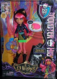 Howleen Wolf 13 Wishes Monster High Dolls Howleen Wolf 13 Wishes Doll Becky Cochrane