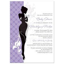 purple and black baby shower invitations home design inspirations