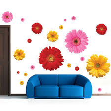 Daisy Room Decor Aliexpress Com Buy 6 Designs Creative Daisy Sakura Flowers Pot