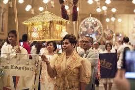 catholic tradition of simbang gabi begins at 125 churches