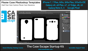 phone case photoshop templates for custom phone case business