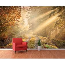 enchanting enchanted forest wall mural uk custom d wall murals gorgeous forest wall decals uk autumn forest path woodland forest wall murals canada full size
