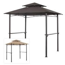 outdoor patio grill gazebo garden winds replacement canopy top for pacific casual bbq grill