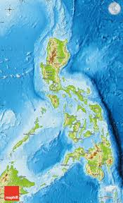 Phillipines Map Physical Map Of Philippines