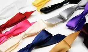 pre bows self adhesive satin bows 5 8 w x 4 1 2 l purple lci paper