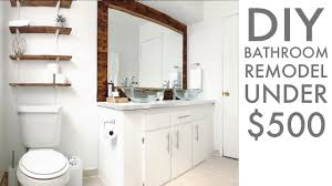 do it yourself bathroom remodel ideas lifetime diy remodeling a bathroom for under 500 diy how to modern