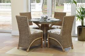 Waterford Rattan Dining Set Daro Cane Furniture Rattan - Round dining table with wicker chairs